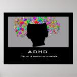 ADHD: El arte de la distracción hiperactiva Poster