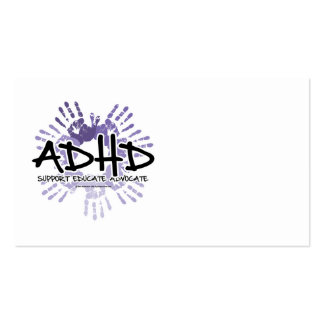 ADHD Handprint Business Cards