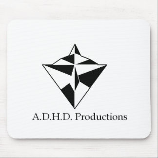 adhd logo mouse pad