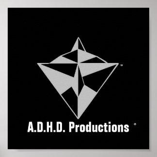 adhd logo POSTER! Poster