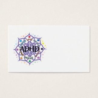 ADHD Lotus Tribal Business Card