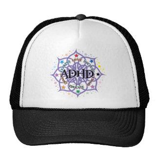ADHD Lotus Tribal Trucker Hat