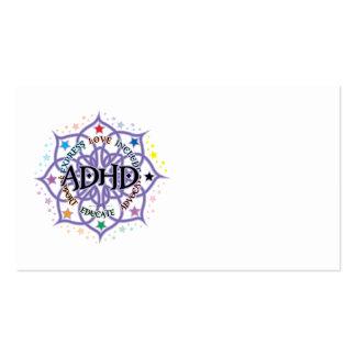 ADHD Lotus tribal Tarjeta De Visita