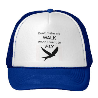 ADHD Motivational Trucker Hat/Cap - I want to FLY Trucker Hat