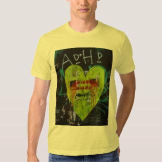 ADHD Ninja Heart T Shirt