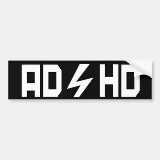 ADHD PEGATINA PARA AUTO