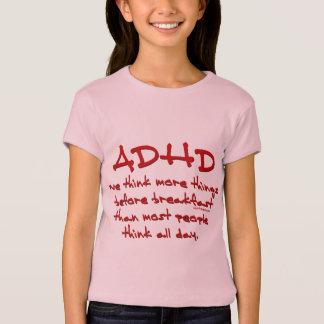 ADHD piensan más Playera