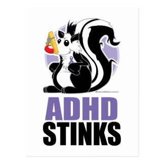ADHD Stinks Postcard