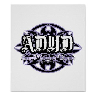 ADHD Tribal Poster