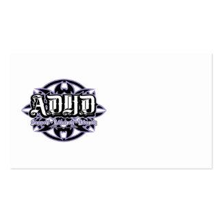 ADHD tribal Plantillas De Tarjeta De Negocio
