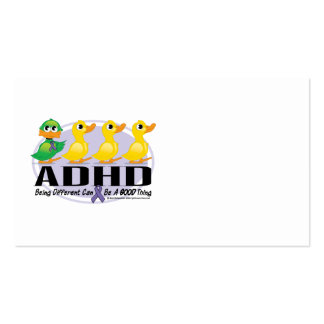 ADHD Ugly Duckling Business Card