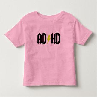 ADHD Yellow Bolt Toddler T-shirt