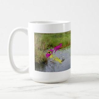 Adhesion Alligator Classic White Coffee Mug