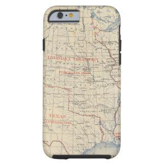 Adhesiones 1 del territorio funda de iPhone 6 tough