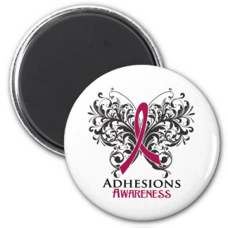 Adhesions Awareness Butterfly Refrigerator Magnet