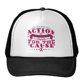 Adhesions Take Action Fight For The Cause Trucker Hat
