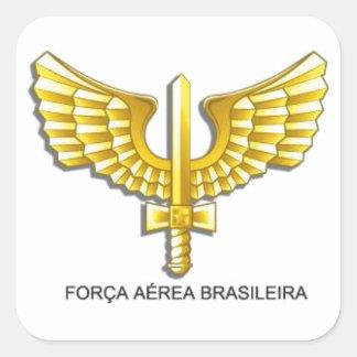 Adhesive Brazilian Air Force - BAF Square Sticker