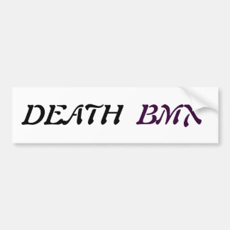 Adhesive Death Bmx Car Bumper Sticker