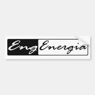 Adhesive Engineering of Energy Bumper Sticker