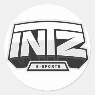 Adhesive - INTZ e-Sports Classic Round Sticker