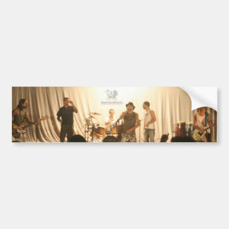 Adhesive of L.2012 car MandacaRoots. Band Bumper Sticker