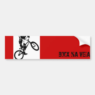 Adhesive Style BMX Bumper Stickers