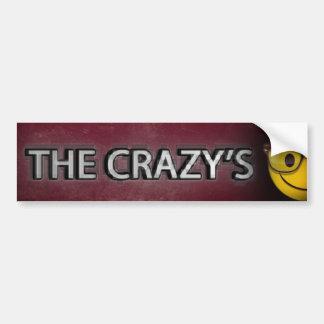 Adhesive The Crazy's Bumper Sticker