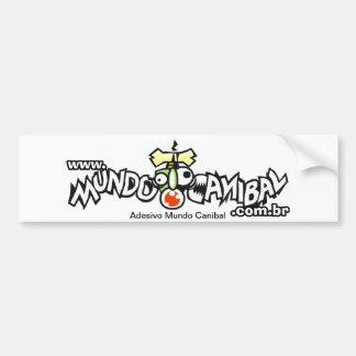 Adhesive World Cannibal Bumper Sticker