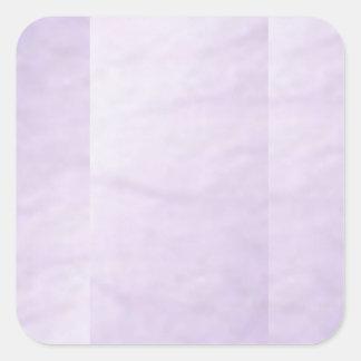 Adhesivo purpúreo claro Escribir-EN la herramienta Pegatina Cuadrada