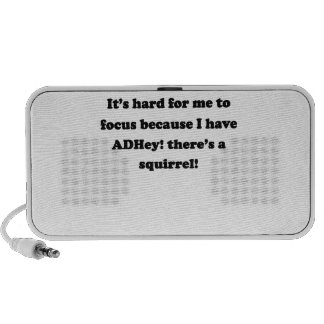 ADHey! There's a squirrel! Notebook Speaker