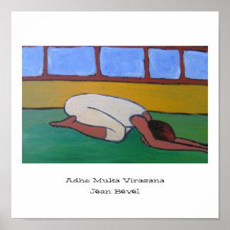 Adho Muka Virasana Poster