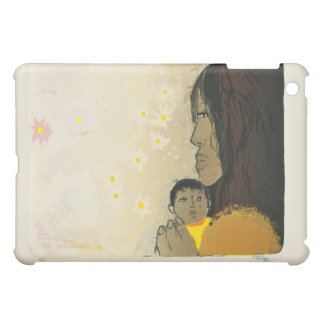 Adi Holzer Mother and Child Print Speck Case iPad Mini Cover