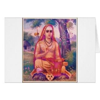 Adi Shankara Tarjeta De Felicitación