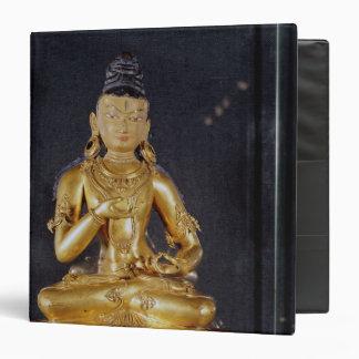 Adibuddha Vajrasattva seated in meditation Vinyl Binders