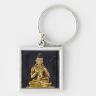Adibuddha Vajrasattva seated in meditation Key Chains