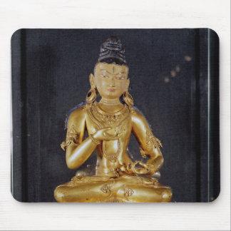 Adibuddha Vajrasattva seated in meditation Mouse Pad