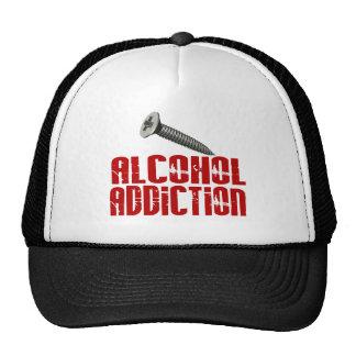 Adicción al alcohol del tornillo gorras de camionero