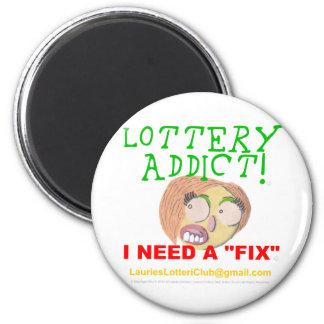 Adicto 0002 a la lotería imanes