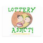 Adicto 002c a la lotería postales