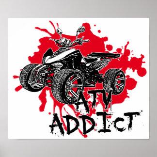 Adicto a ATV Poster