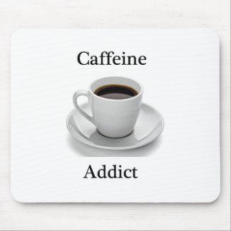 Adicto a cafeína alfombrillas de ratones