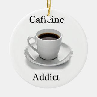 Adicto a cafeína ornamento de reyes magos