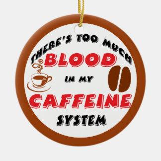Adicto a cafeína ornamente de reyes