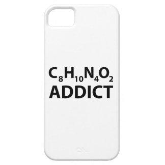 Adicto a cafeína iPhone 5 Case-Mate cárcasa