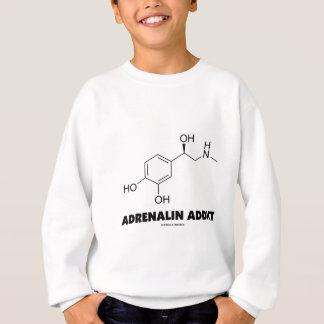 Adicto a la adrenalina (molécula de la epinefrina sudadera