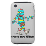 adicto a la cinta de los deportes tough iPhone 3 cobertura