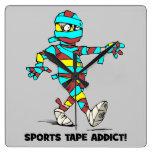 adicto a la cinta de los deportes reloj