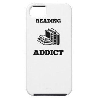 Adicto a la lectura iPhone 5 funda