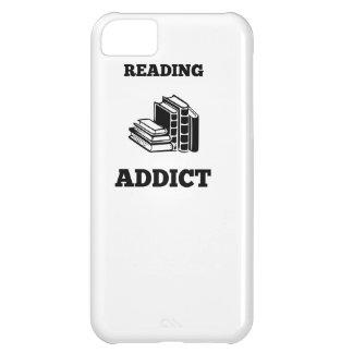 Adicto a la lectura funda para iPhone 5C