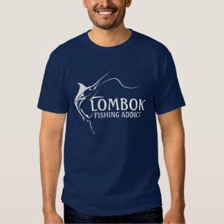 Adicto a la pesca de Lombok Poleras